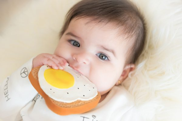 Lolaletost organic rubber toys for babies and kids