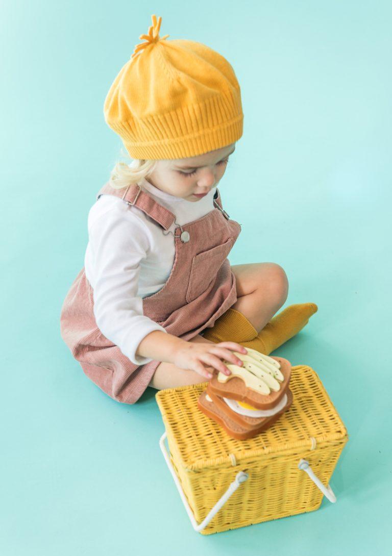 Mordedor de caucho natural para bebés y niños Lolaletost